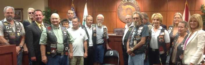 BOCC POW-MIA Chair Dedication 10-14-14
